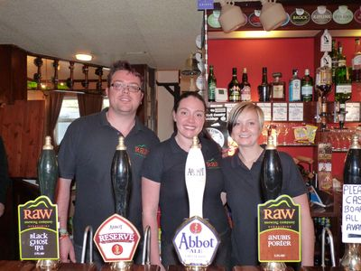 The Arkright Arms Staff. (Photo: Fiona Monteith-Preston)